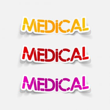 realistic design element: medical