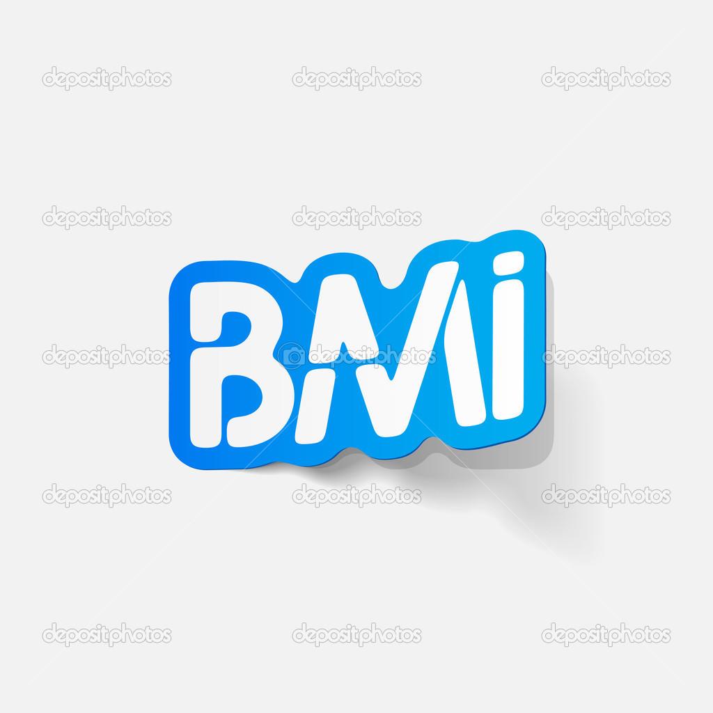 elemento de diseño realista: IMC — Vector de stock © Palau83 #43237321
