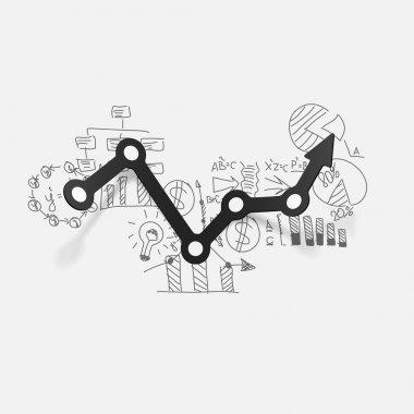 Drawing business formulas: chart