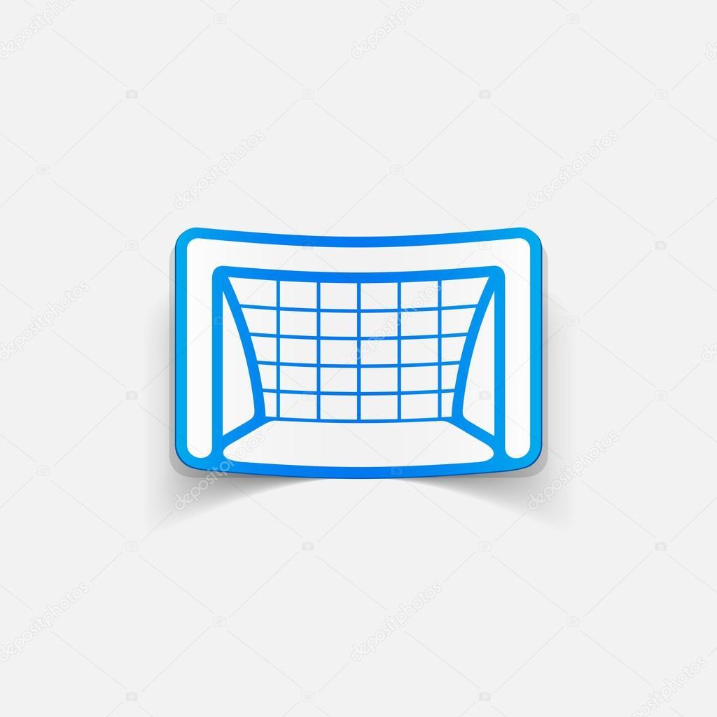 Elemento Di Design Porta Calcio Vettoriali Stock Palau83 49217951