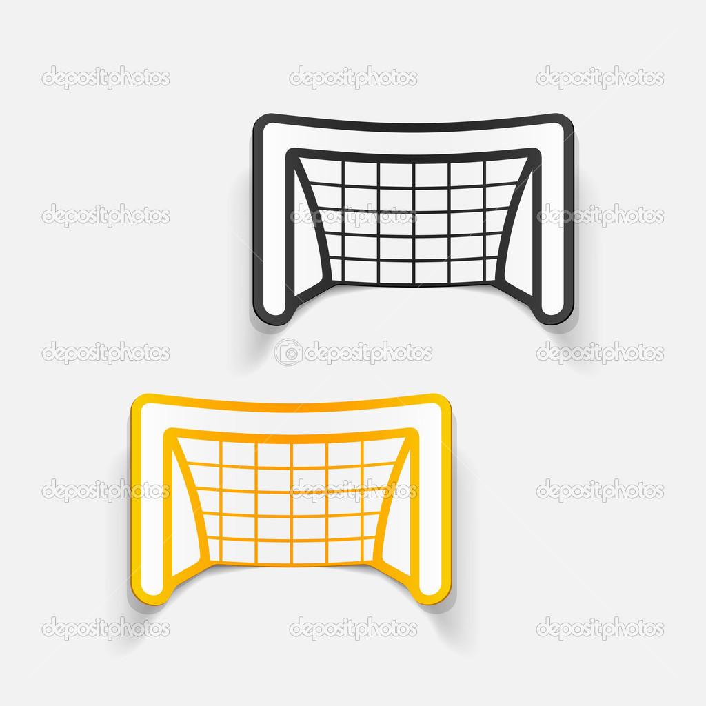 Elementi Di Design Porte Calcio Vettoriali Stock Palau83 49634817