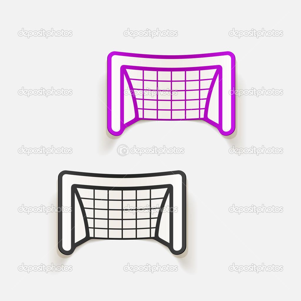 Elemento Di Design Porta Calcio Vettoriali Stock Palau83 49942989