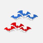 Photo realistic design element: bat