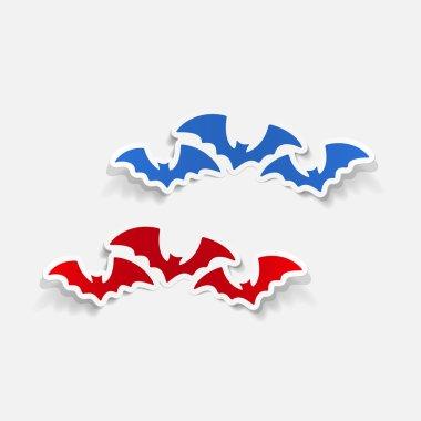 Bat fly sticker