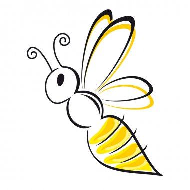 bee stylized