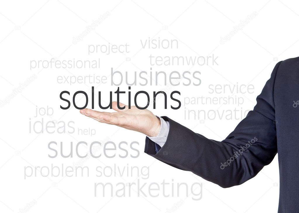 solutions business words