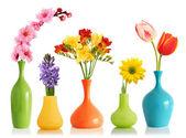 jarní květiny do vázy