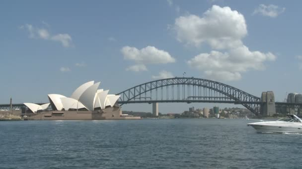 Sydney Opera and Harbor Bridge