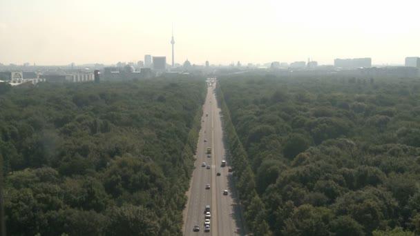 letecká berlínské panoráma