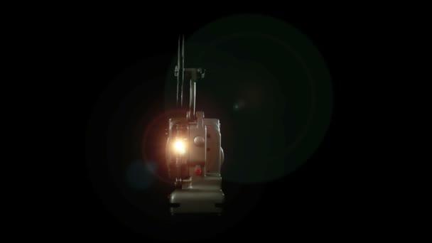 ročník 8mm projektor světlo