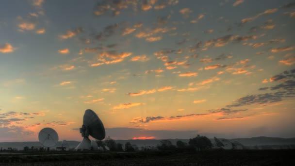 Satelliten-Erdstation