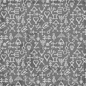 Fényképek alkímia szimbólumok minta