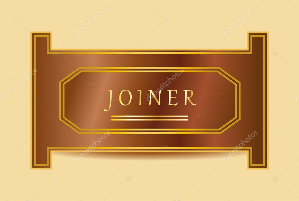 Joiner — Vector de stock © theneoo #47020595