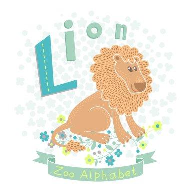 Letter L - Lion