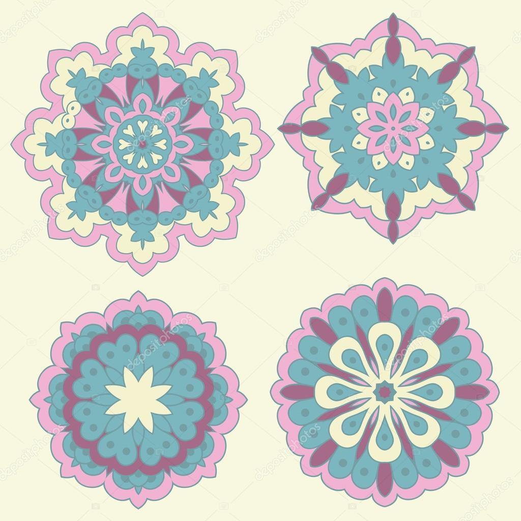 Arabesques. Decorative element.