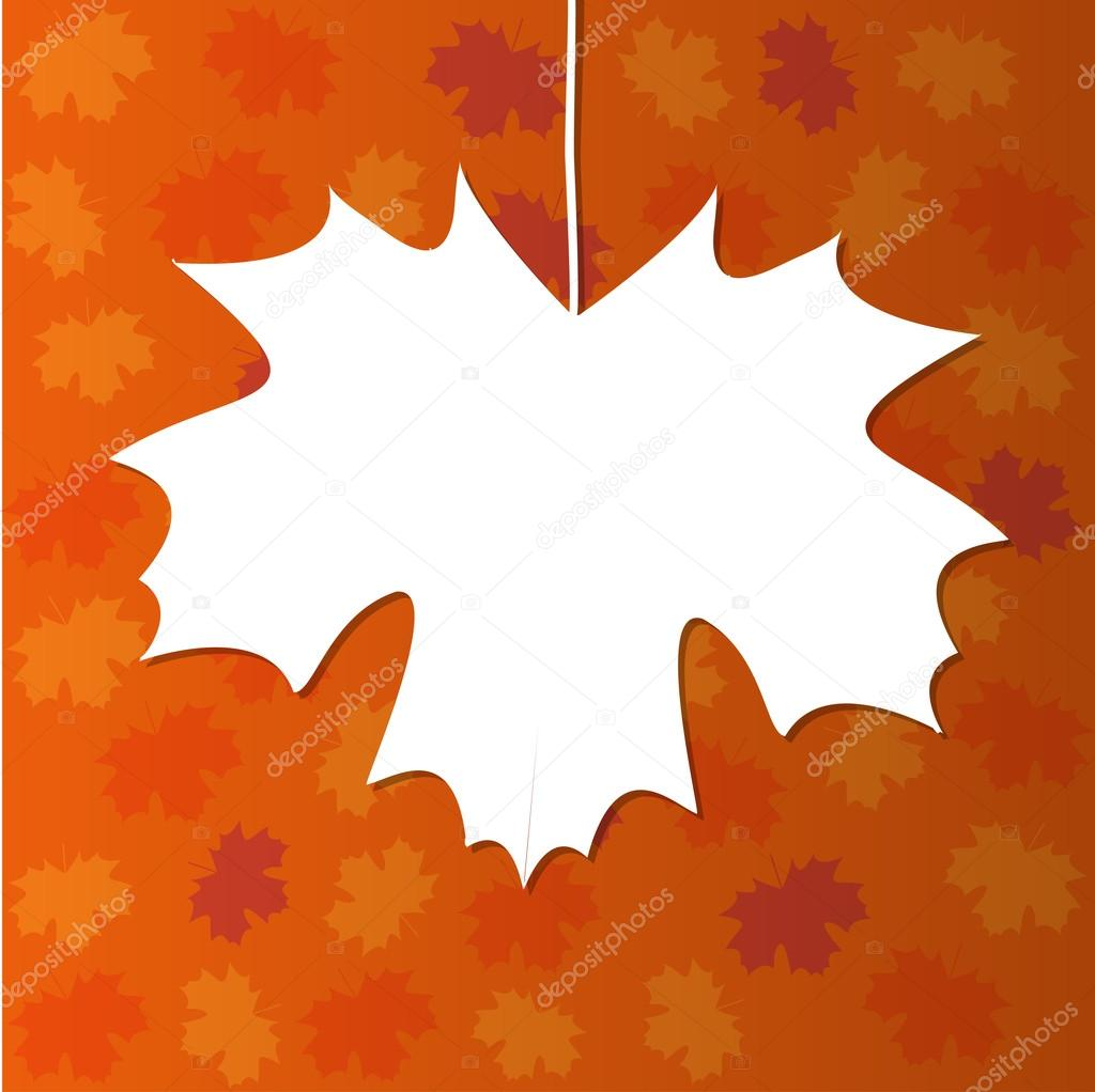 Dessin abstrait avec feuille d 39 rable image vectorielle marina abcd 29986265 - Feuille erable dessin ...