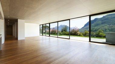 modern house, interior