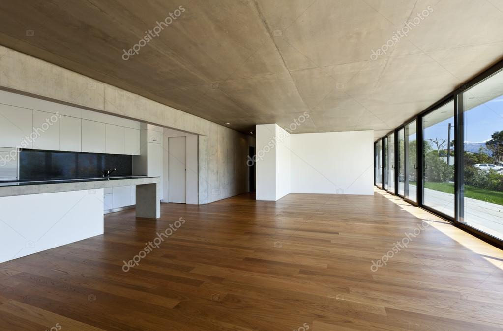 Casa moderna interni foto stock zveiger 20716945 for Moderna casa di cemento