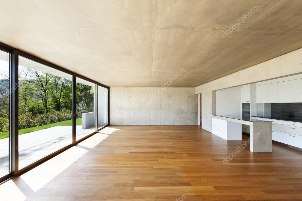 Casa moderna interior fotografias de stock zveiger for Casa moderna parquet