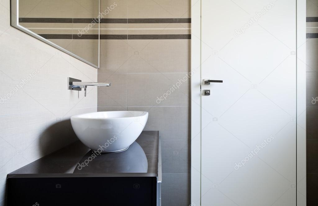 Modern Apartment Bathroom Stock Photo C Zveiger