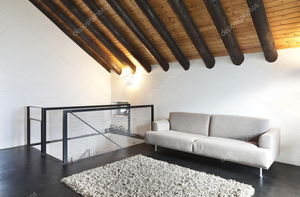 Interieur, moderne chalet — Stockfoto #26073007