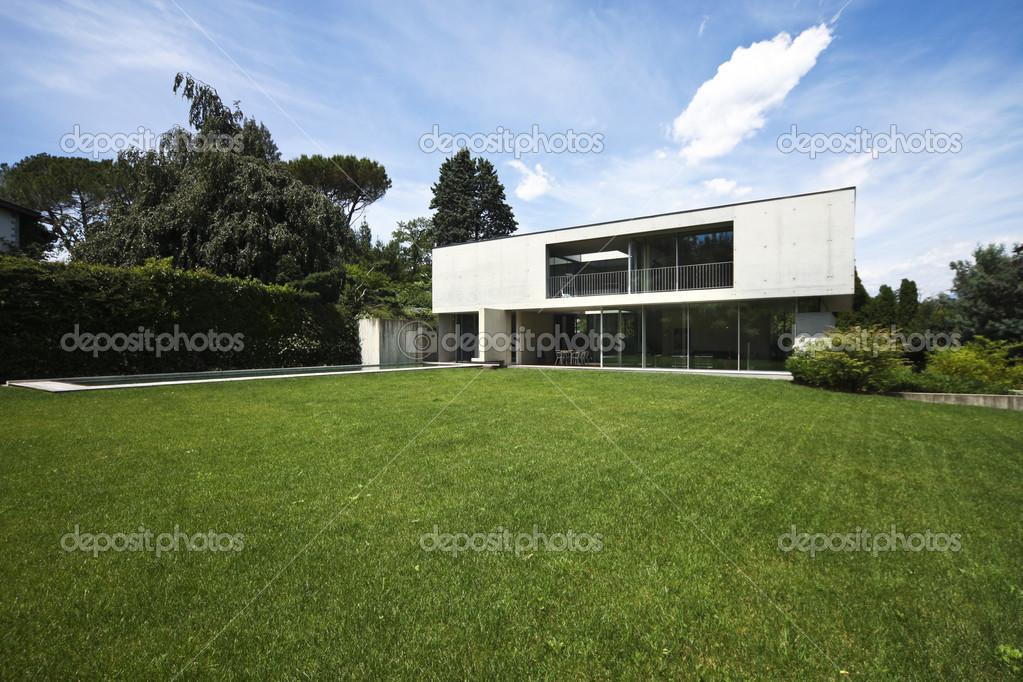 maison moderne design en beton — Photographie Zveiger © #26949463