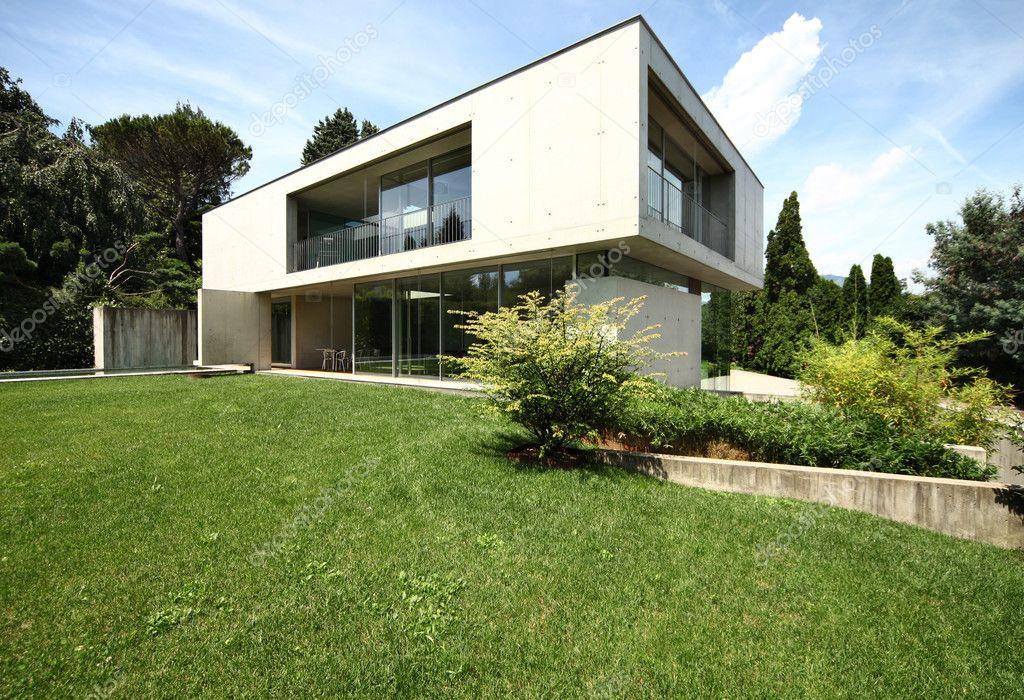 Modernes Haus Design modernes haus design in beton stockfoto zveiger 26949675