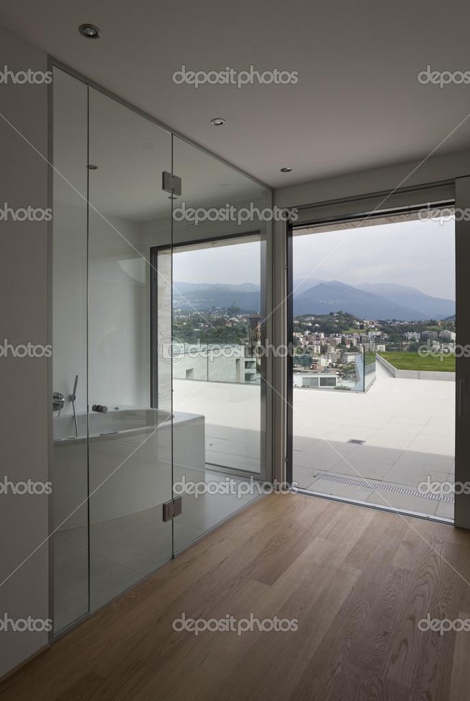 Bel Interieur D Une Maison Moderne Salle De Bains Photographie