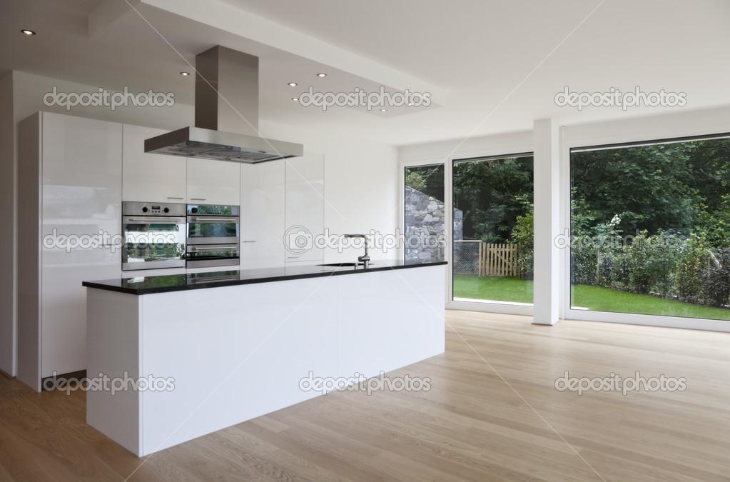 Mooi interieur van een modern huis u2014 stockfoto © zveiger #30680227