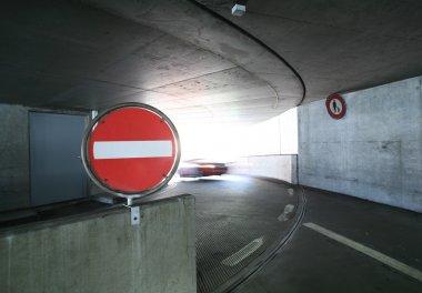 Parking enter