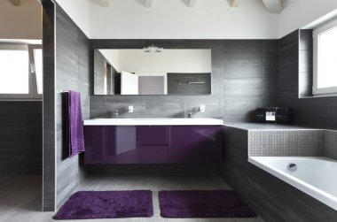 Bathroom. Modern architecture contemporary