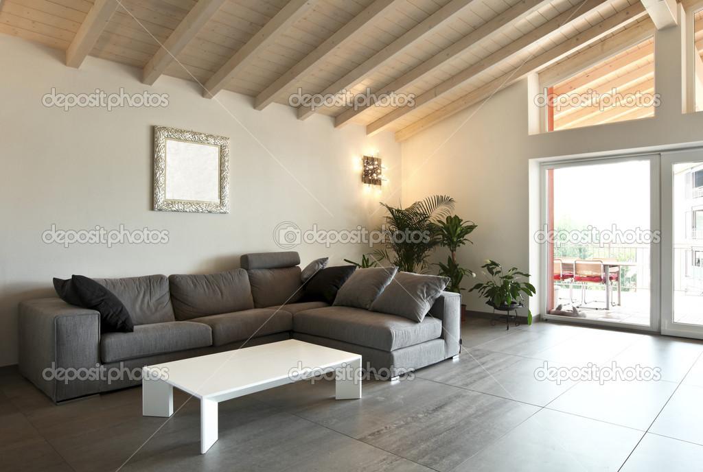 Moderne Architektur Zeitgenössische, Interieur, Große Wohnzimmer U2014 Foto Von  Zveiger