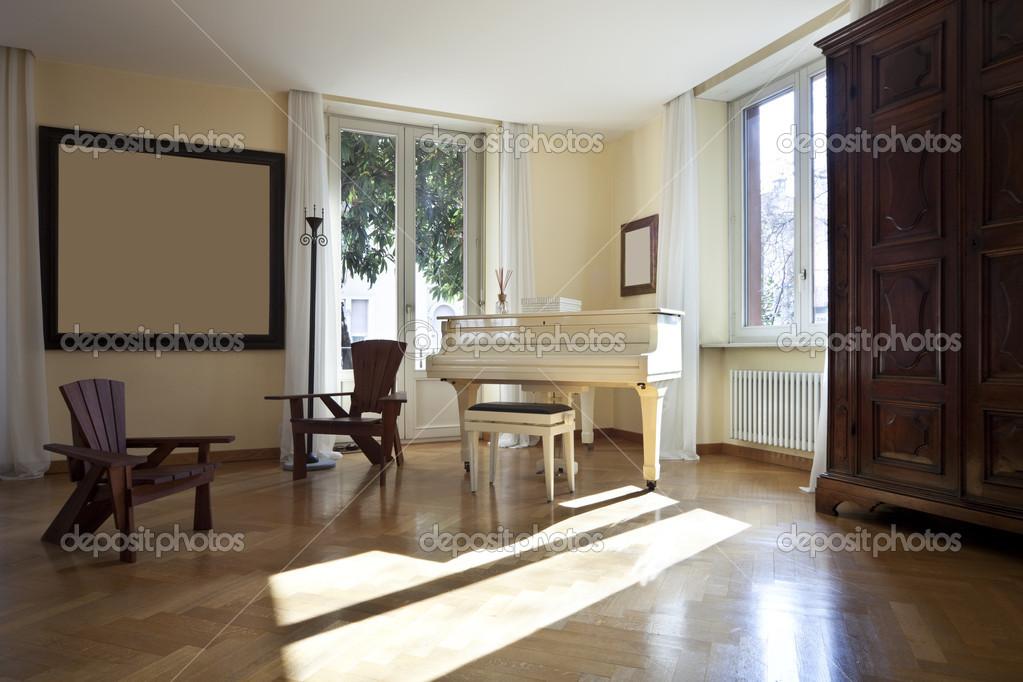 mobili classici soggiorno — Foto Stock © Zveiger #36086667