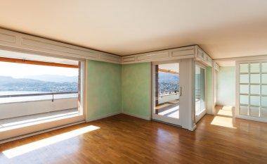 Empty apartment classic
