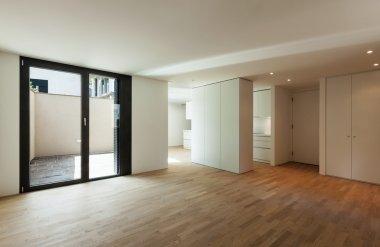 New house, empty room