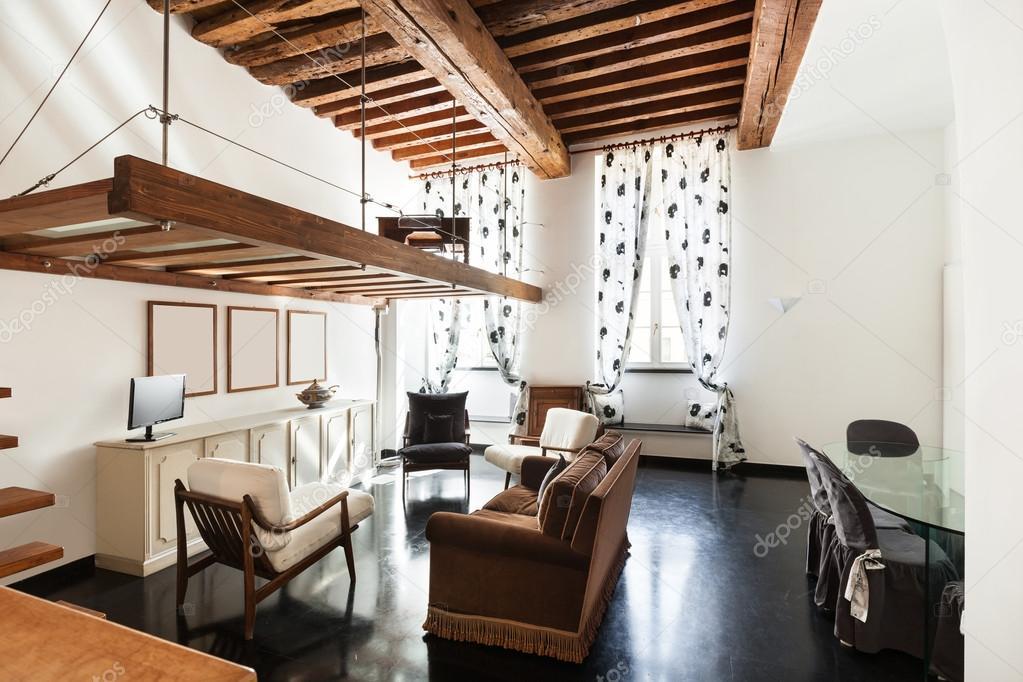 Beautiful loft, living room