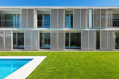 Fotografie moderne Villa mit pool