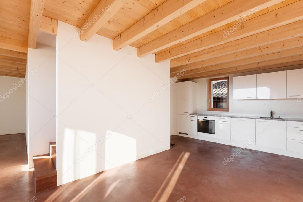 Comfortable empty loft