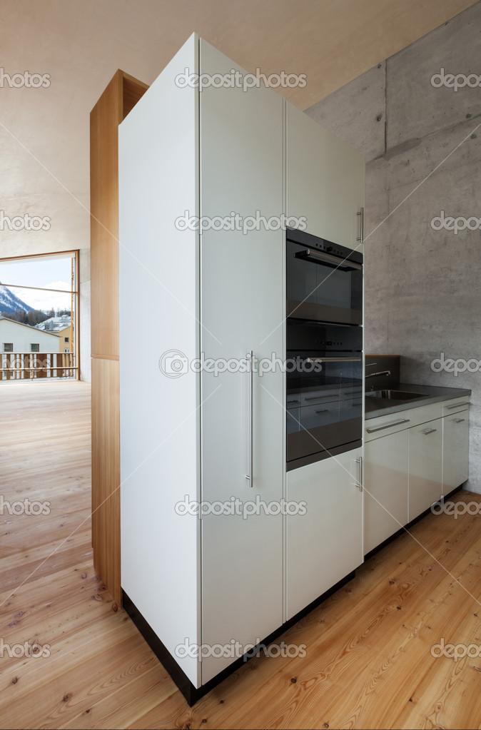 cucina di casa, montagna — Foto Stock © Zveiger #49846495