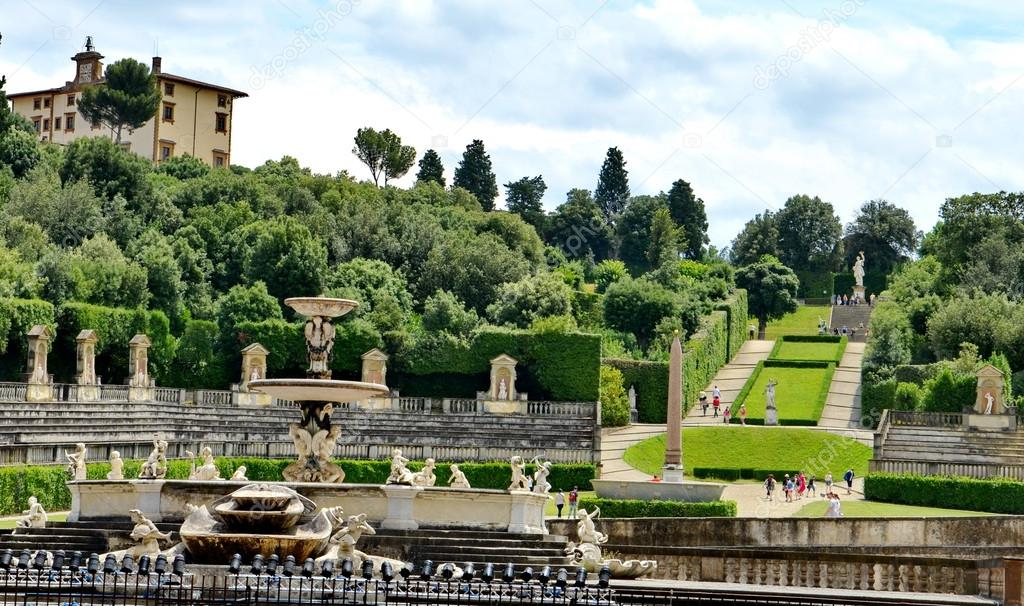 Pitti Palace and Boboli Gardens, Florence