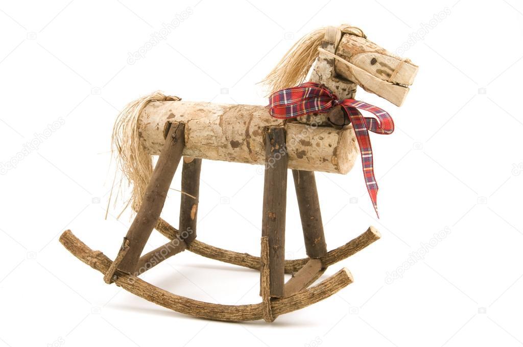 Cavallo A Dondolo Artigianale.Cavallo A Dondolo Artigianale Foto Stock C Gordo25 33713881