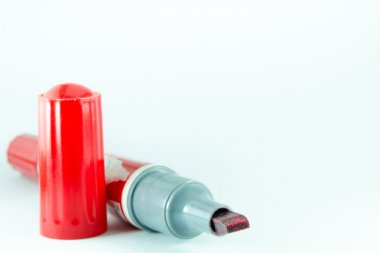 Chemical red whiteboard pen
