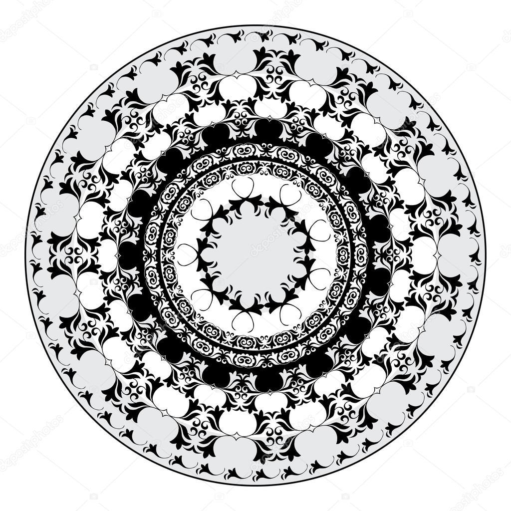 orientalische muster und ornamente 06 stockvektor 24327587. Black Bedroom Furniture Sets. Home Design Ideas