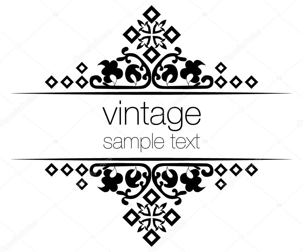 Bilderrahmen verzieren ornamente  verzieren Vintage Bilder 03 — Stockvektor © antsvgdal #25555923
