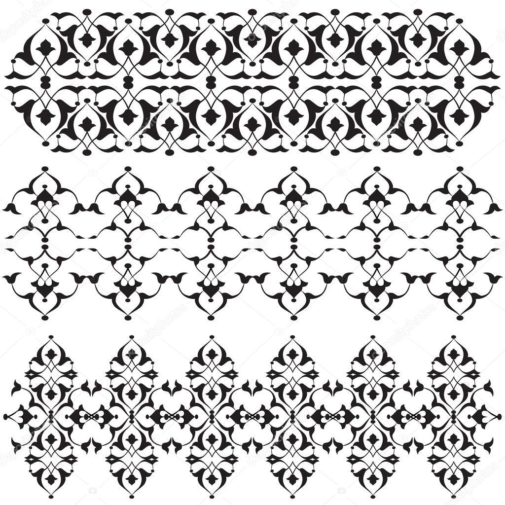Orientalische Rahmen und Ornament 15 — Stockvektor © antsvgdal #44017907