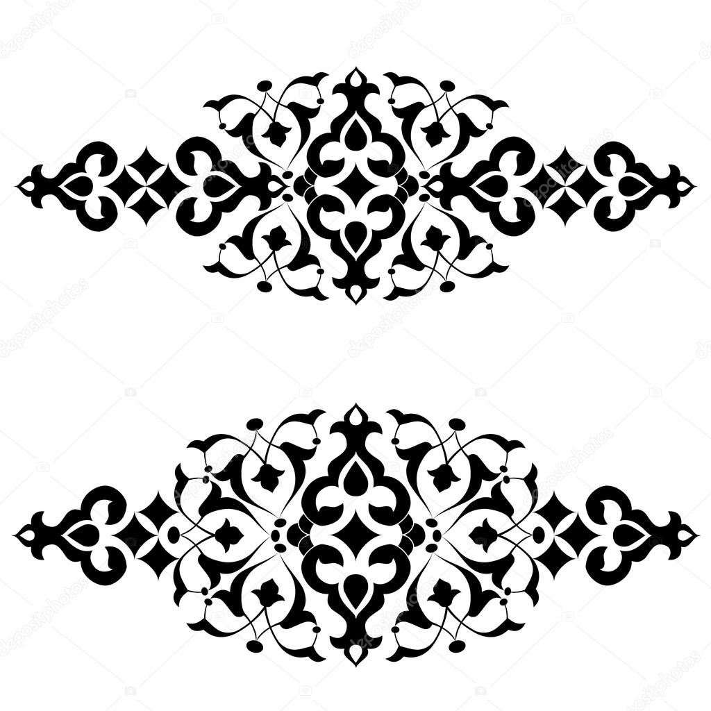 Stock Illustration Ottoman Motifs Design Series Fifty on st series