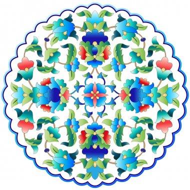 Ottoman motifs design series fifty nine