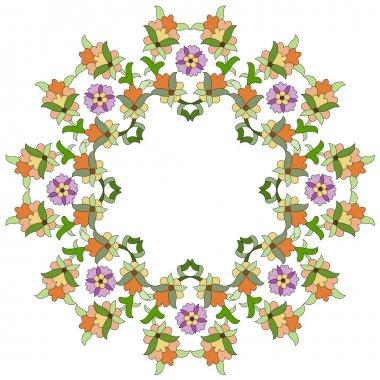 Ottoman motifs design series eighty five