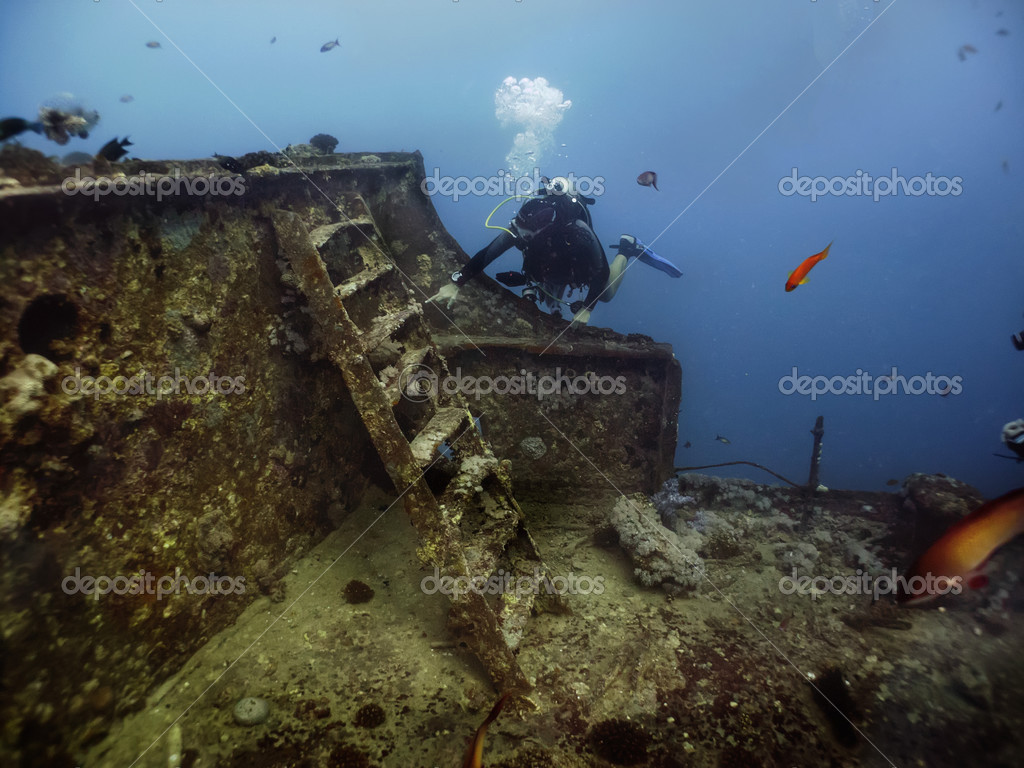 S S  Thistlegorm Wreck — Stock Photo © lilithlita #48249059