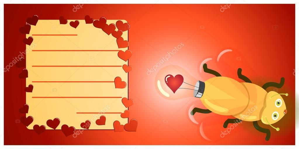 Love Light Bulb Firefly